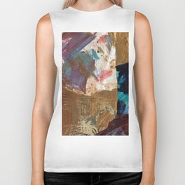 Colours of the wind, and gold. Biker Tank