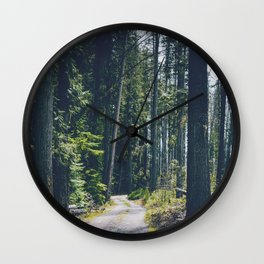 Glacier Path Wall Clock