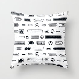 Ports Throw Pillow