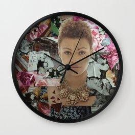 Through The Eyes Wall Clock