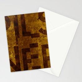 Pilsner Beer Typography Stationery Cards