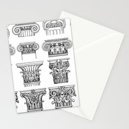 Order of columns Stationery Cards