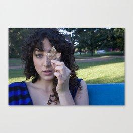 Chantal/Leaf Canvas Print