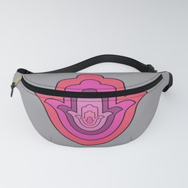 The Hamsa Palm Hand Meaning Fanny Pack