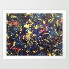 The new scream (Munch) Art Print