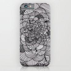 Ink flowers iPhone 6s Slim Case