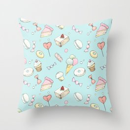 Breakfast at Tiffany's Throw Pillow