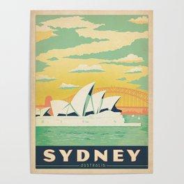 Vintage poster - Sydney Poster