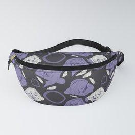 Ladies Purple Fanny Pack