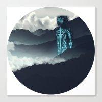 titan Canvas Prints featuring Titan by ketizoloto