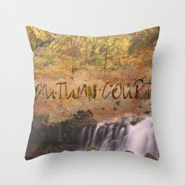 Autumn Court Throw Pillow