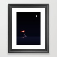 Light from the Deep Framed Art Print