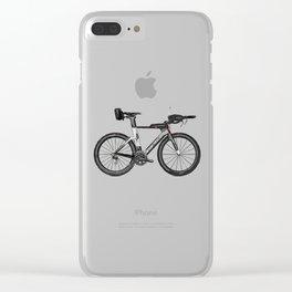 T.T. Bike Clear iPhone Case