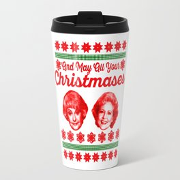 Golden Girls Christmas copy Travel Mug