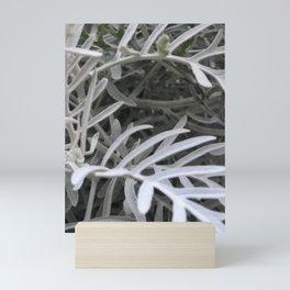 Decorative Sage Color Grass Mini Art Print