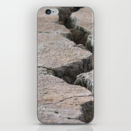 Crack in the wall iPhone Skin