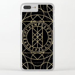 Web of Wyrd  -The Matrix of Fate Clear iPhone Case