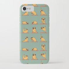 Pug Yoga Slim Case iPhone 7