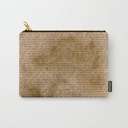 My Dear Watson Carry-All Pouch
