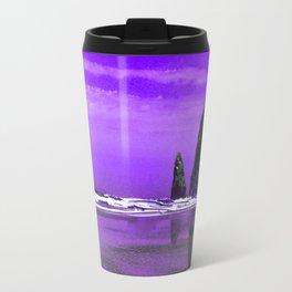 Oregon Coast Abstract Travel Mug
