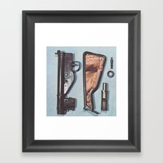 Larme Framed Art Print