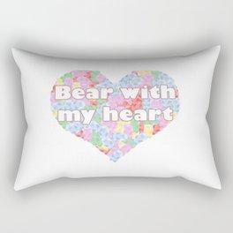 Bear with my heart Rectangular Pillow