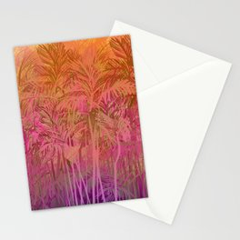 Bamboo Sunset Colors Stationery Cards