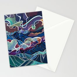 Atop Mount Grohman Stationery Cards