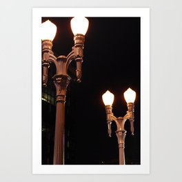 Street Lights  Art Print