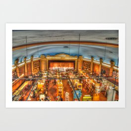 INDIGO store  Art Print