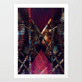 disquiet eleven (luxação) Art Print