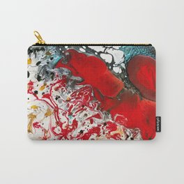 Abstract Field of Flowers - Vulpecula Carry-All Pouch