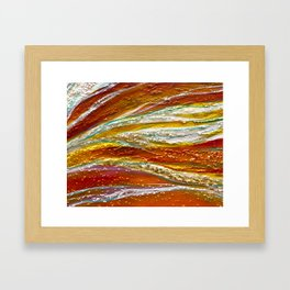 A7 Framed Art Print