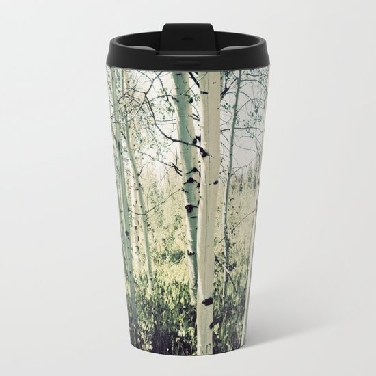 Aspen Grove Metal Travel Mug