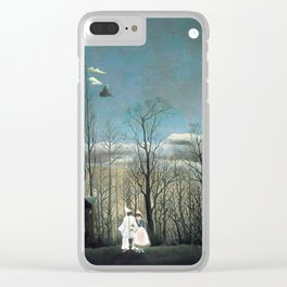 Henri Rousseau Carnival Evening Clear iPhone Case