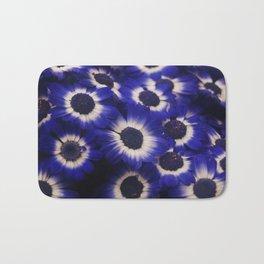 Blue Cineraria Bath Mat