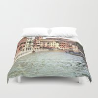 venice Duvet Covers featuring Venice by Rachael Snow