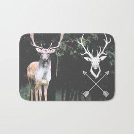 deer wild Bath Mat