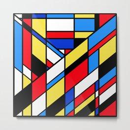 The Color Cubes - 2A Metal Print