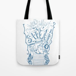 Hipster Sailor Tote Bag