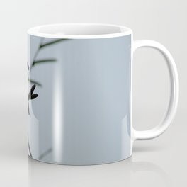 Birch branches on a rainy day Coffee Mug