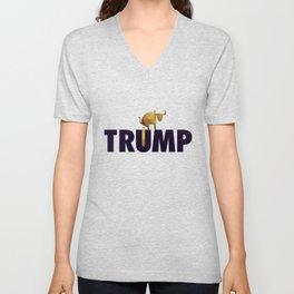 Donald J. Trump - Full of It. Unisex V-Neck