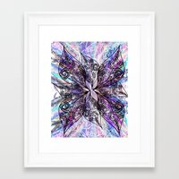 batik Framed Art Prints featuring Batik by Crimsonblossom