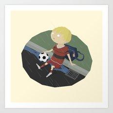 BandNames : Tom Waits Art Print
