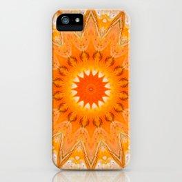 Sunny Mandala Design iPhone Case