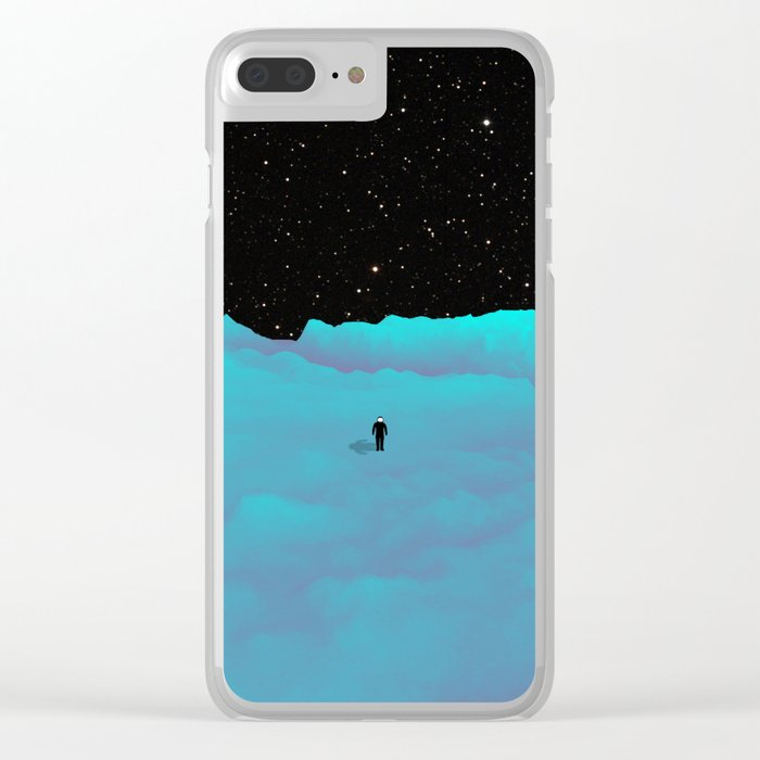 Pluto Clear iPhone Case