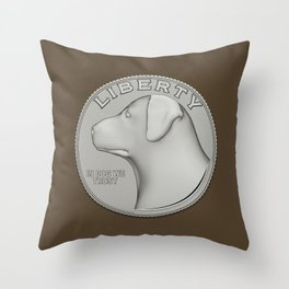In Dog We Trust! Throw Pillow