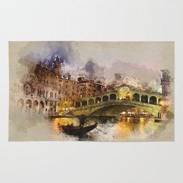 Venezia, Canal Grande Rug