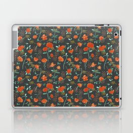 Sweet carnations (dark edition) Laptop & iPad Skin