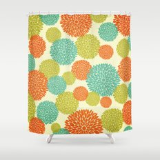 Flowers In May Shower Curtain